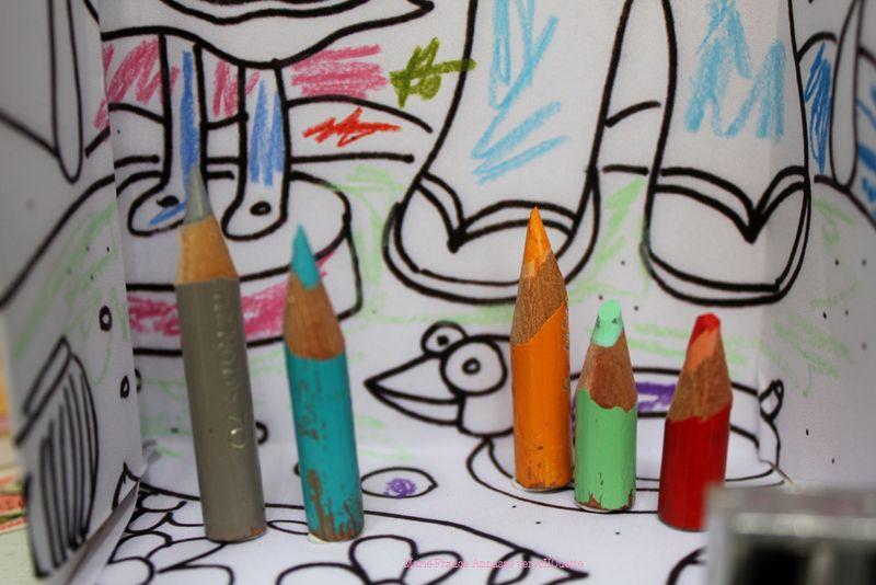 Les vieux crayOns