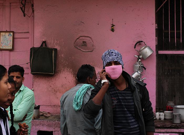 Varanasi pink tea