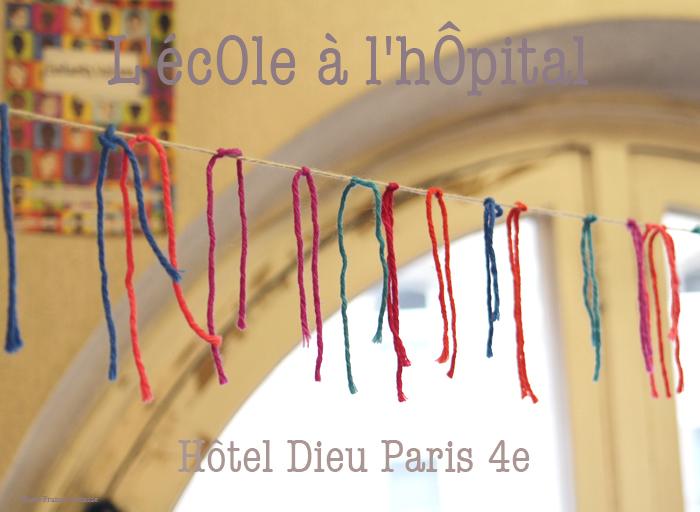 L'écOle à l'hôpital